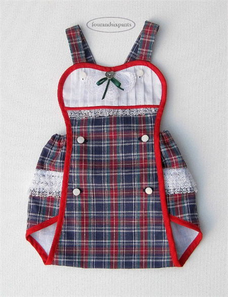 52ec81361bd9 ~Tartan Twee Baby~ Plaid SUNSUIT Playsuit and Wee SHOES 3 month old Girl.  fourandsixpants.etsy.com