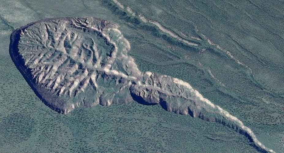 Risultati immagini per Batagaika Crater in Siberia