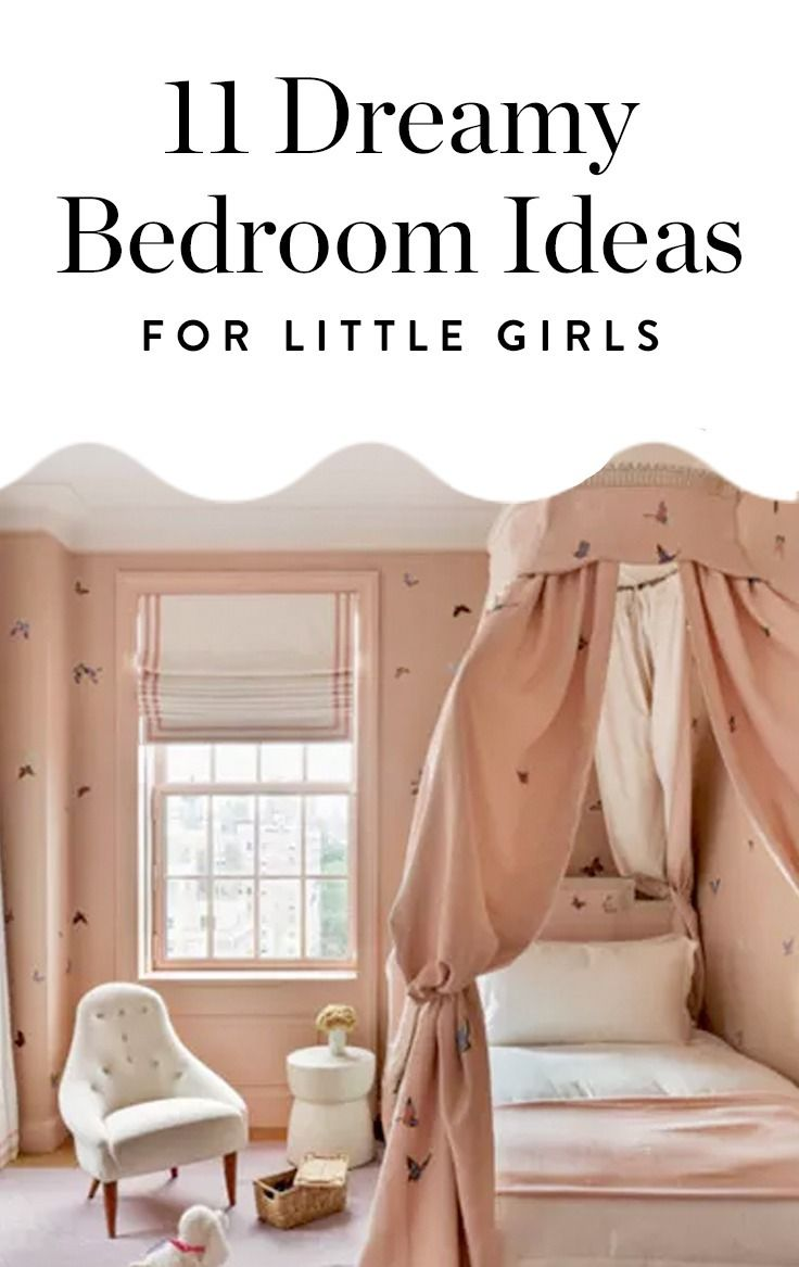 Discover these 11 dreamy bedroom ideas your little girl will love. Prepare yourself for cuteness overload.