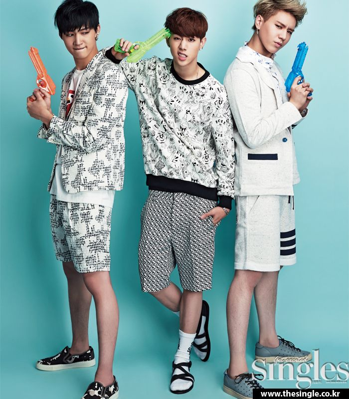 JB, Mark and Yugyeom. Cr. Singles