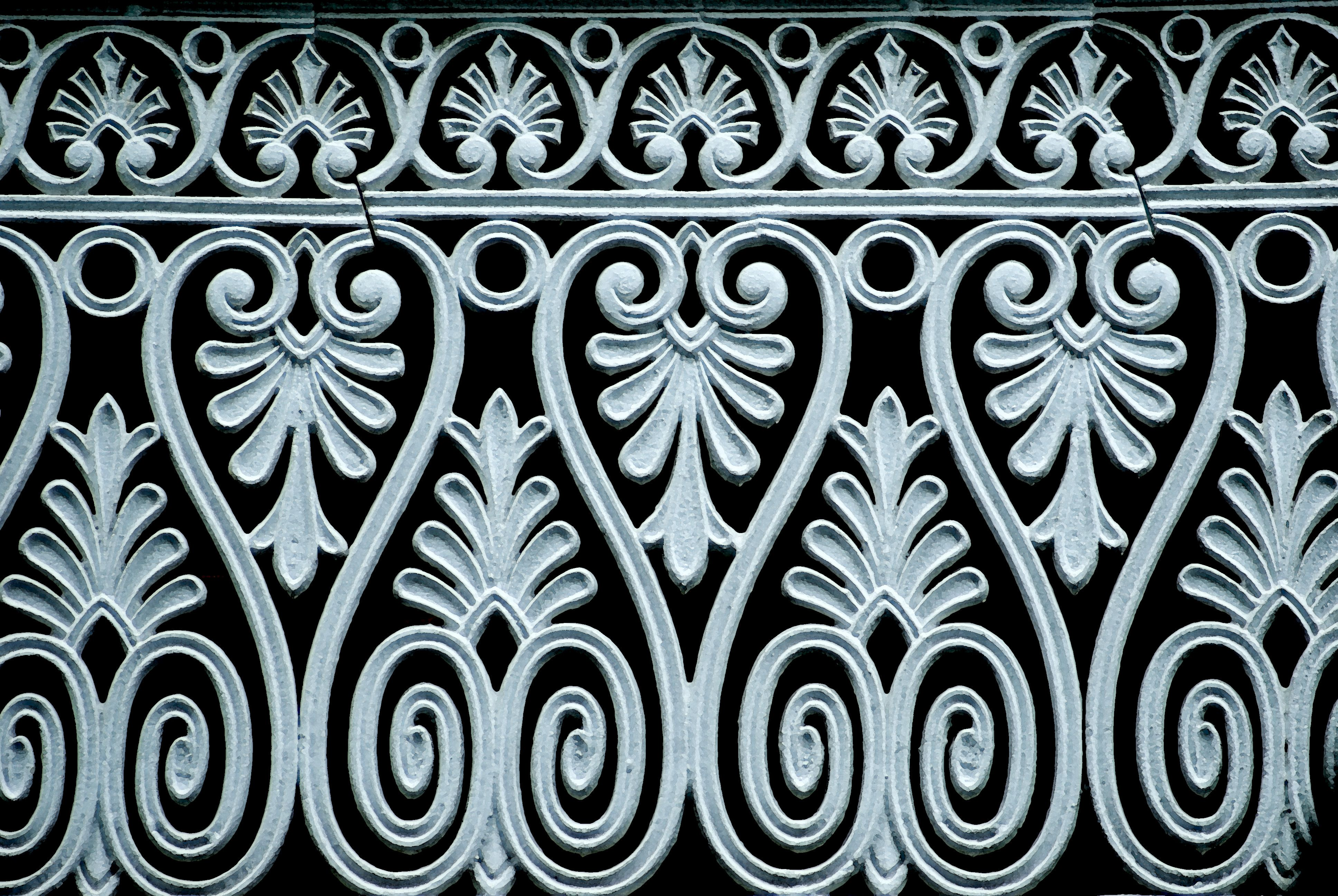 Cast Iron Fence Panels