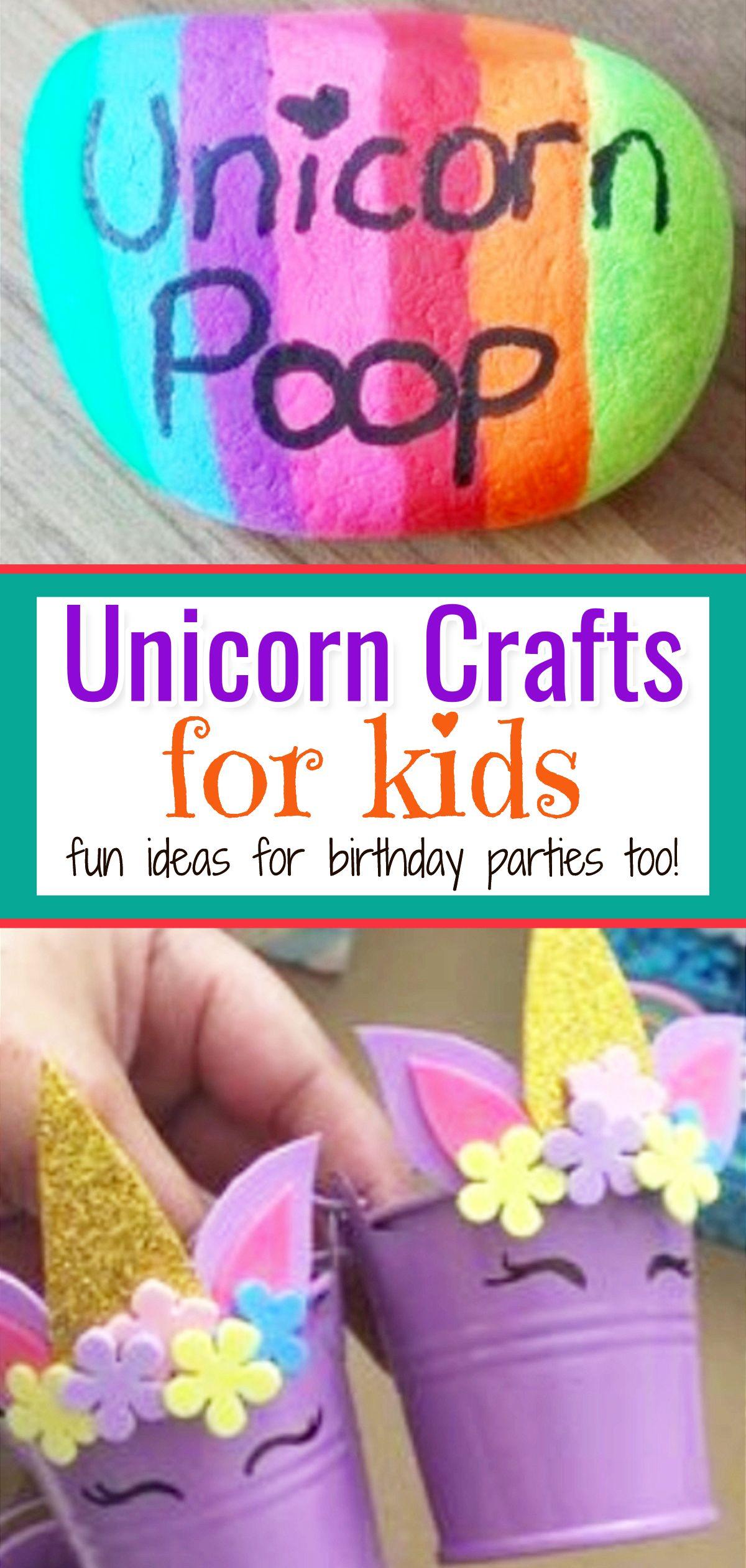 Unicorn Crafts For Kids Cute Easy Diy Unicorn Craft Ideas Clever Diy Ideas Kids Crafts Summertime Unicorn Crafts Craft Projects For Kids