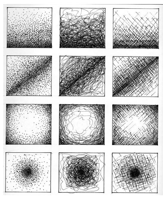 Ejercicios Para Dibujar Texturas Con Pluma Plumas Dibujos Ejercicios De Dibujo Tecnicas De Dibujo