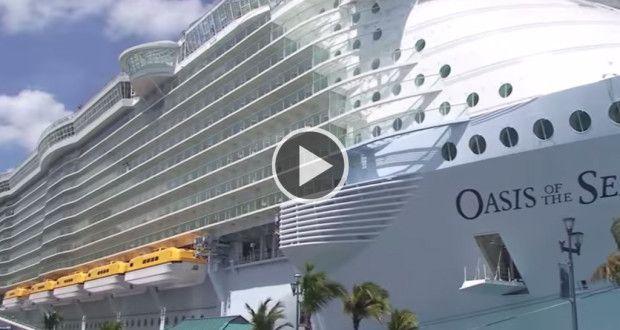 O navio de cruzeiro mais luxuoso do mundo | Viral Video