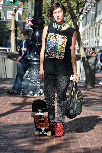 Elusive Skater girl