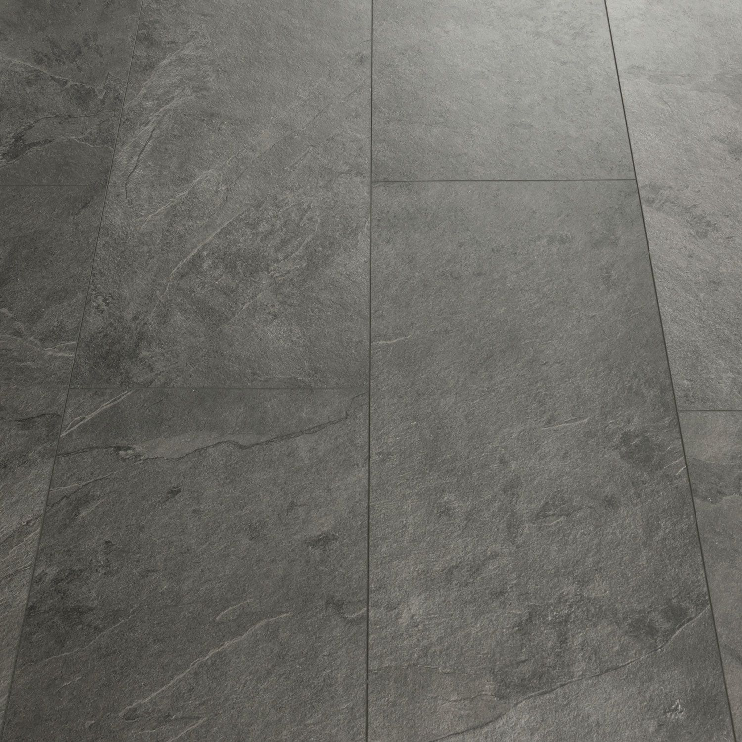 QuickStep Livyn Tile Grey Slate Luxury Vinyl Tile in 2020