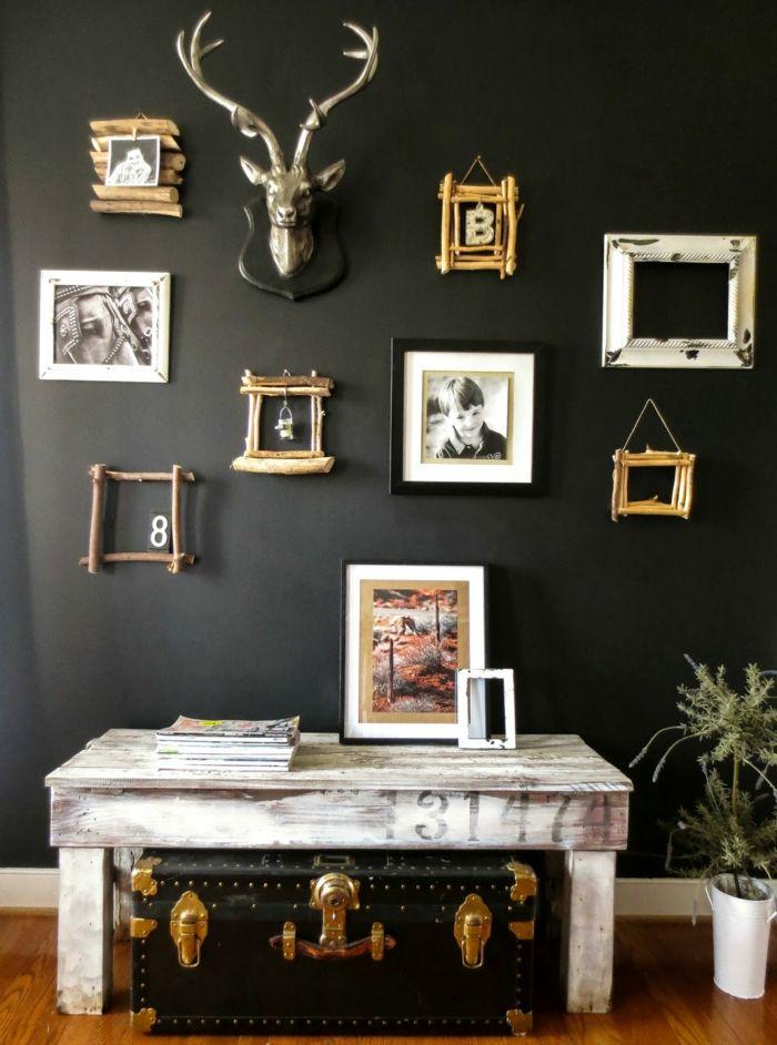Bildergebnis Für Wandfarben Dunkelgrün | Wall Colours/designs | Pinterest |  Wände Streichen Ideen, Wände Streichen Und Wandfarbe