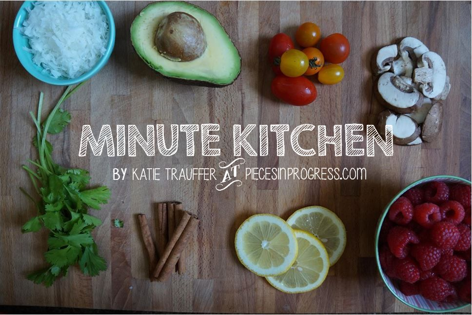 Have you seen my one-minute cooking show Minute... | Pieces in Progress: Living fit, healthy, & happy!