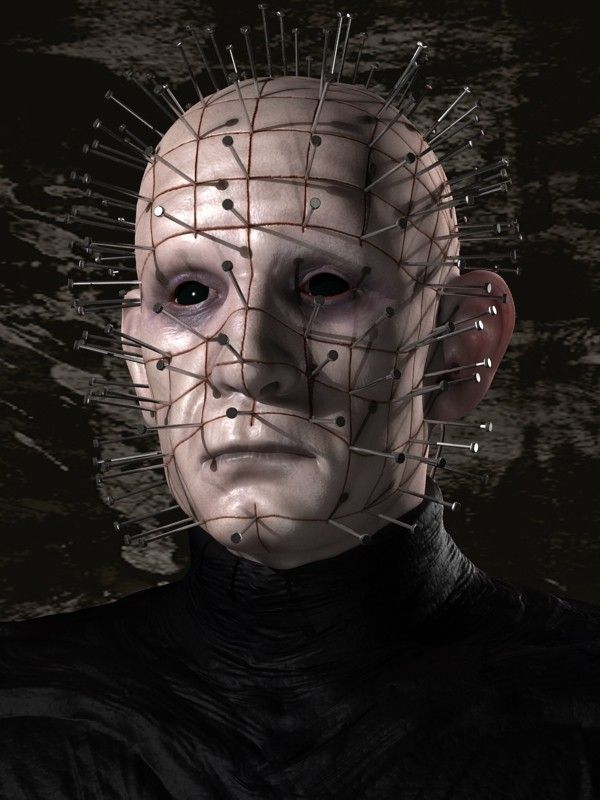 3d Model Bust Pinhead Hellraiser 3d Model Hellraiser 3d Model Horror Films