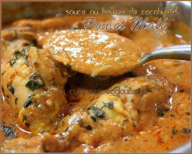 Poulet Mafe Sauce Dakatine Soul Food Recipes Chicken Chicken
