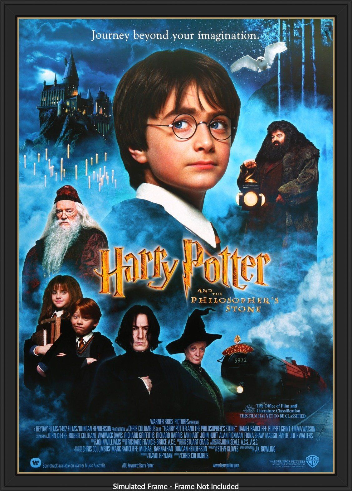 Harry Potter And The Philosopher S Stone 2001 Harry Potter Movie Posters Harry Potter Movies Harry Potter Film