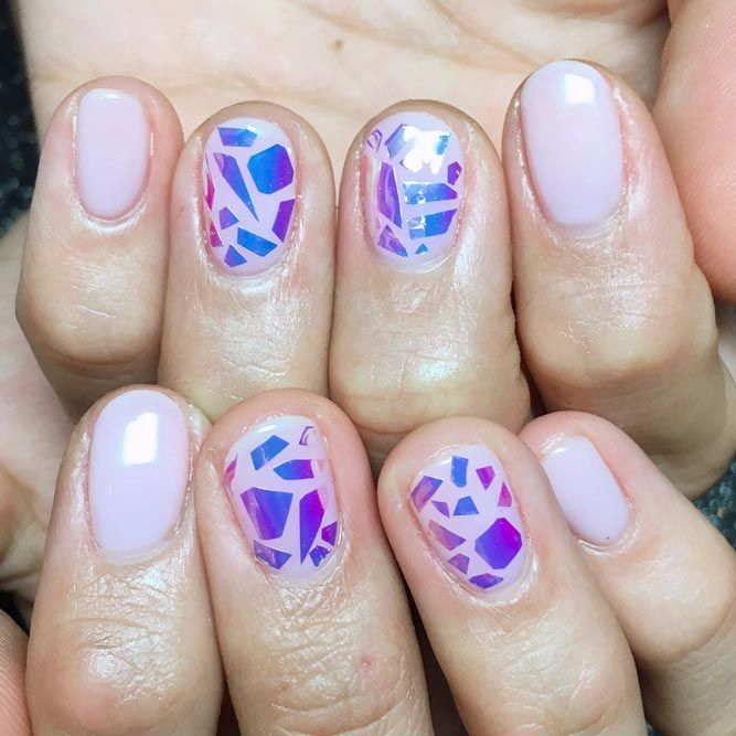25 Lovely And Simple Nail Designs For Short Nails Simple Nail