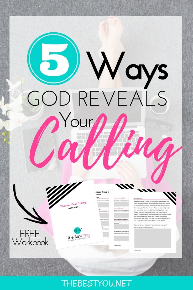 5 Ways God Reveals Your Calling Read Bible Bible Study Christian Resources