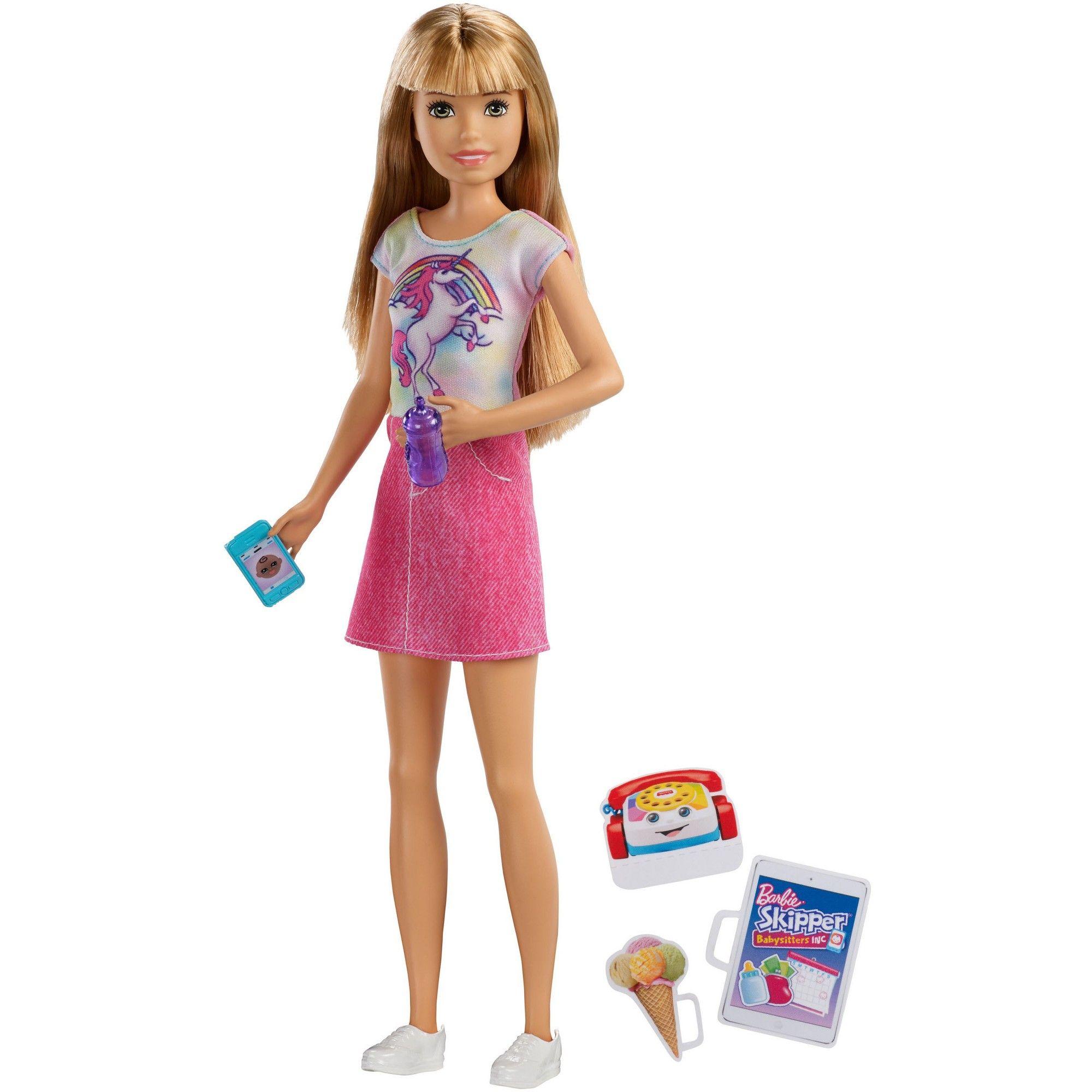 Popcorn Set Mattel Barbie Babysitters Inc