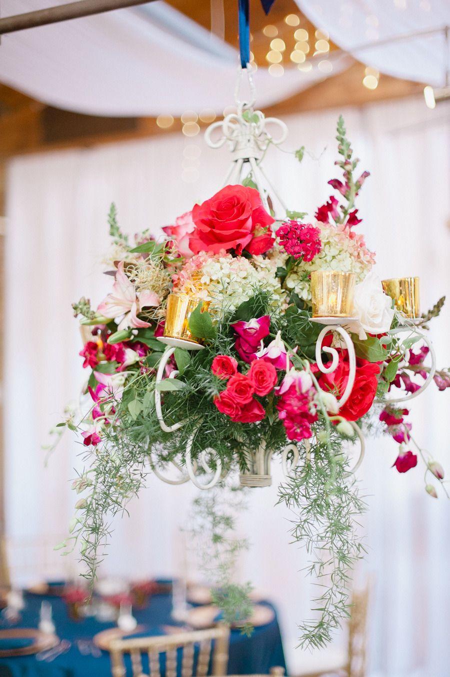 Traditional Sioux Falls Museum Wedding Wedding Flower Arrangements Wedding Flowers Floral Chandelier