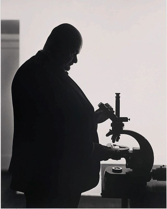 #FlashbackFriday Roman Vishniac was a pioneer in the field of photomicroscopy. 📷 Yousuf Karsh, 1971 #ICPhotog