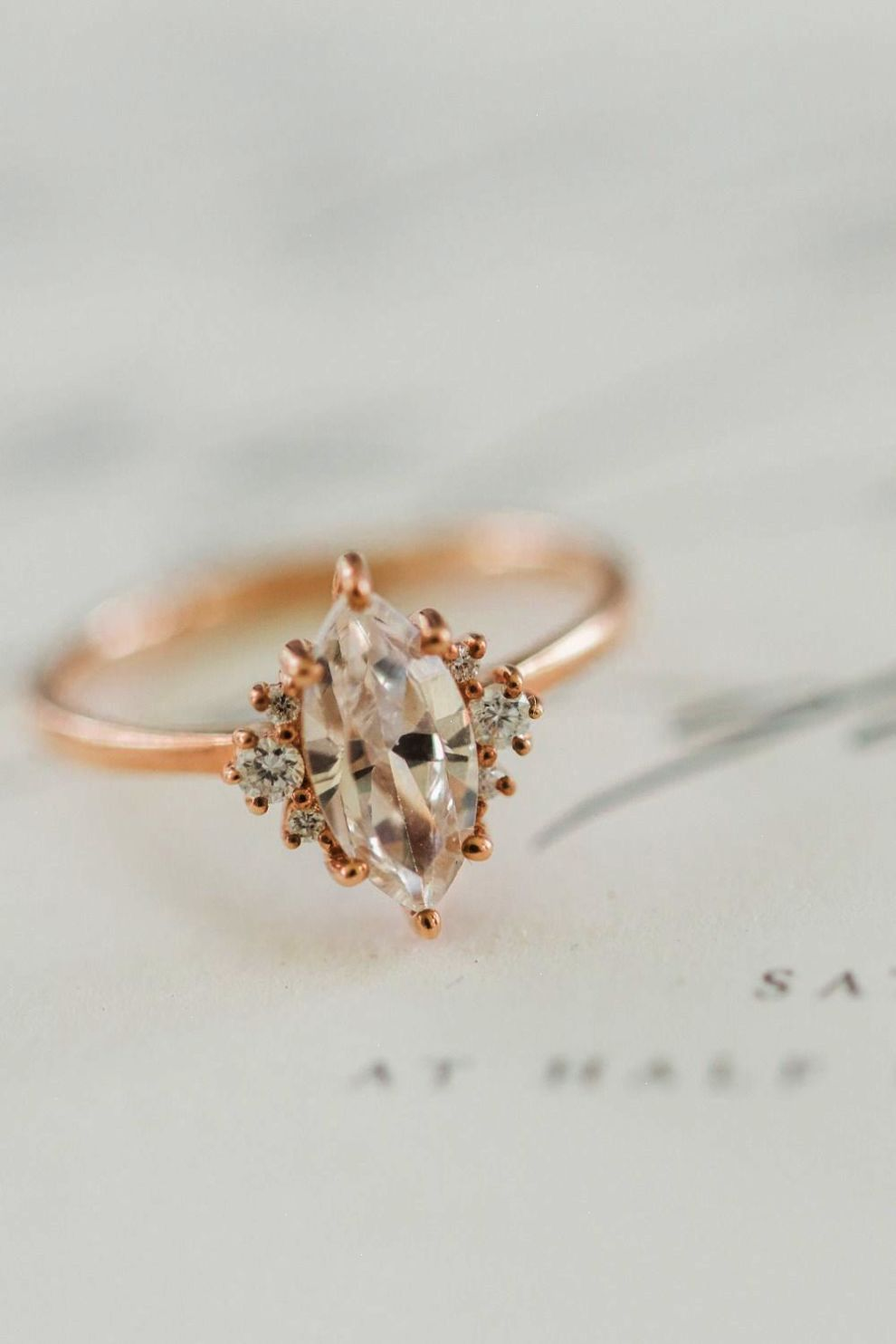 Interesting vintage rose gold engagement rings canada i want
