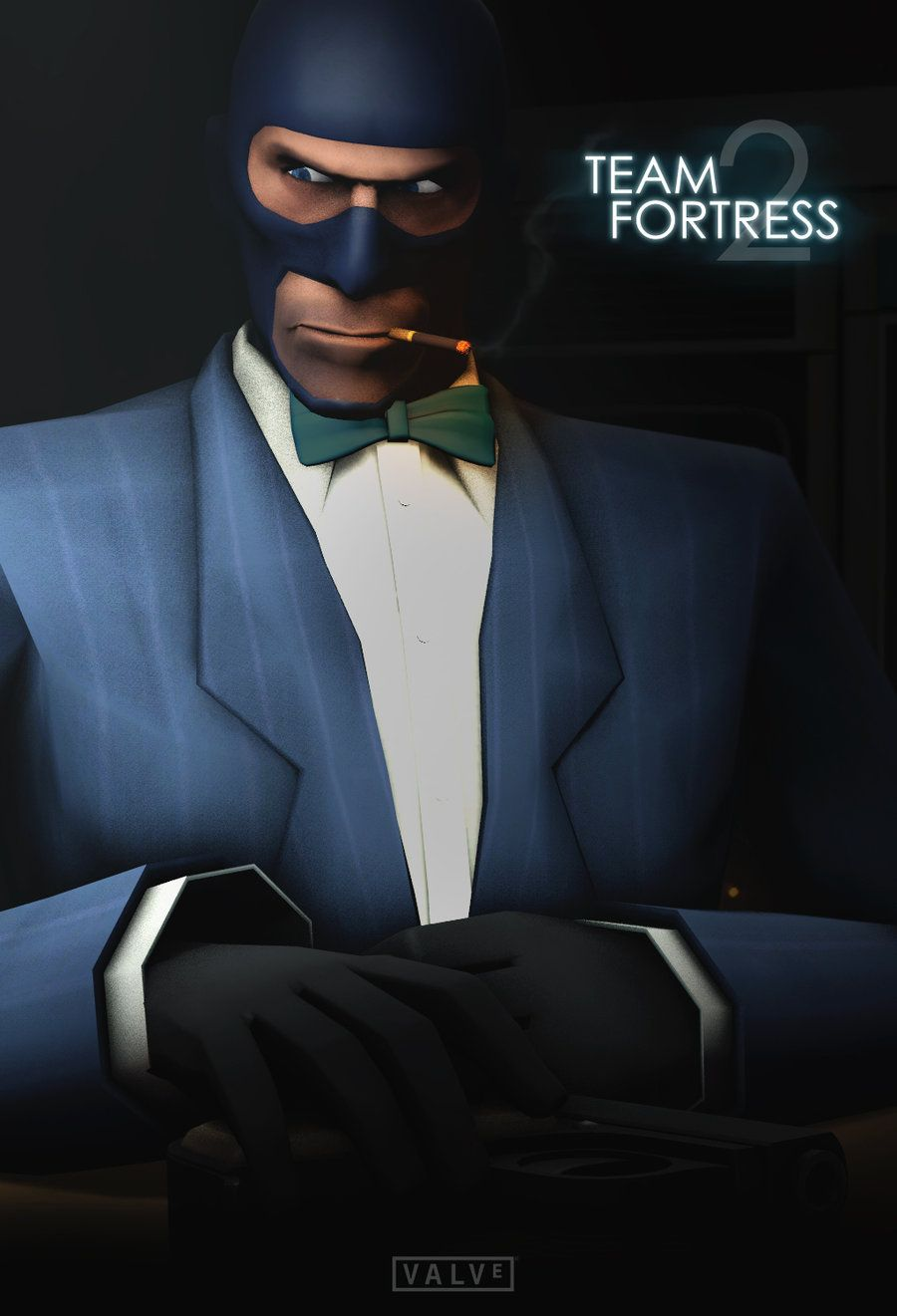 Team Fortress 2 Spy Poster Casino Royale By Klausheissler On