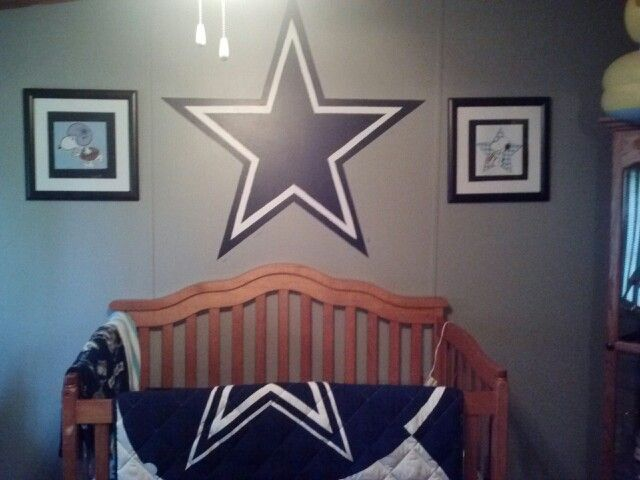 Pin By Jennifer Mason On Mj Dallas Cowboys Nursery Dallas Cowboys Baby Shower Baby Room Decor
