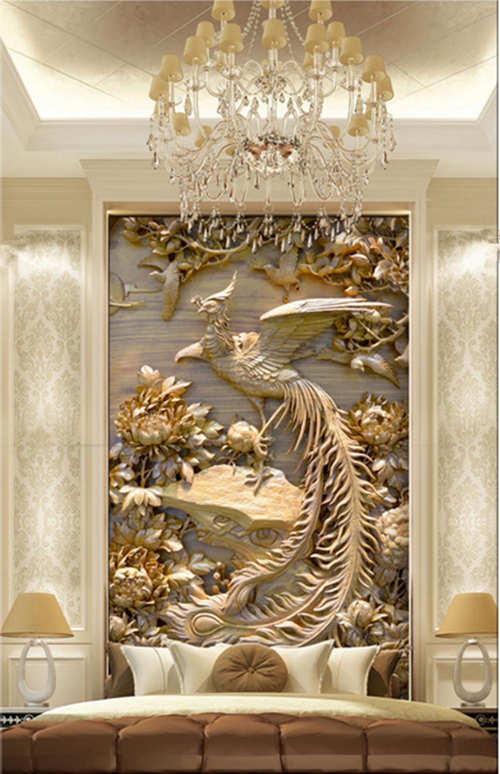 High-end 3D MURAL canvas Wallpaper ART Background wall ...