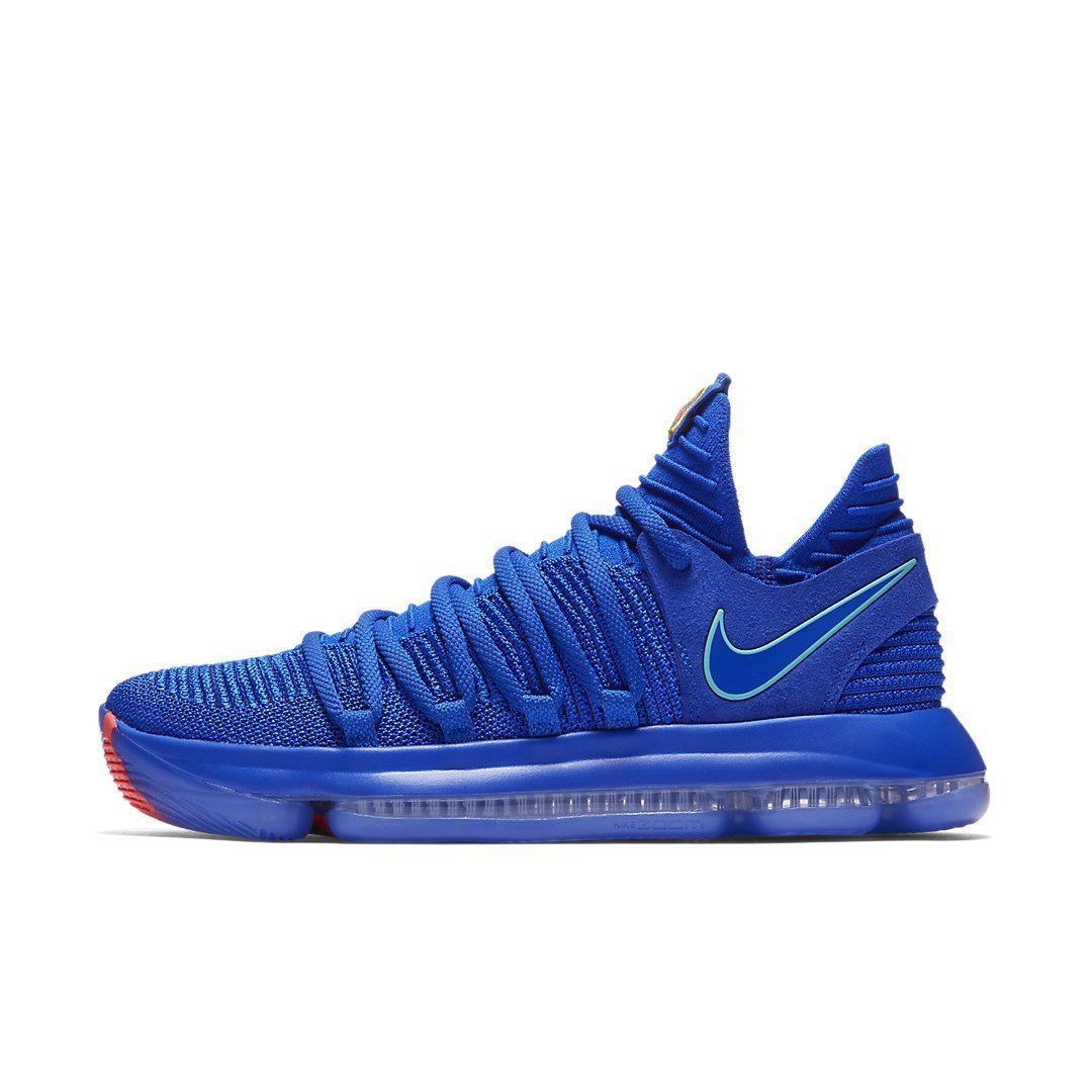 897815 402 Mens Nike Air Zoom Kd 10 Basketball Shoe Racer Blue
