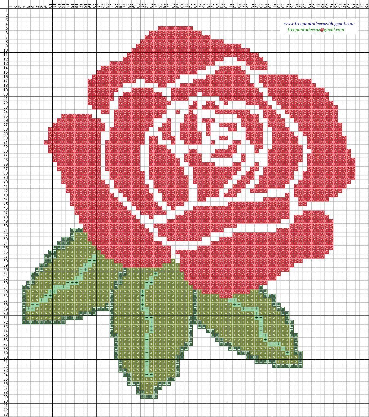 Dibujos punto de cruz gratis flores tapestry crochet - Jerseys faciles de hacer ...
