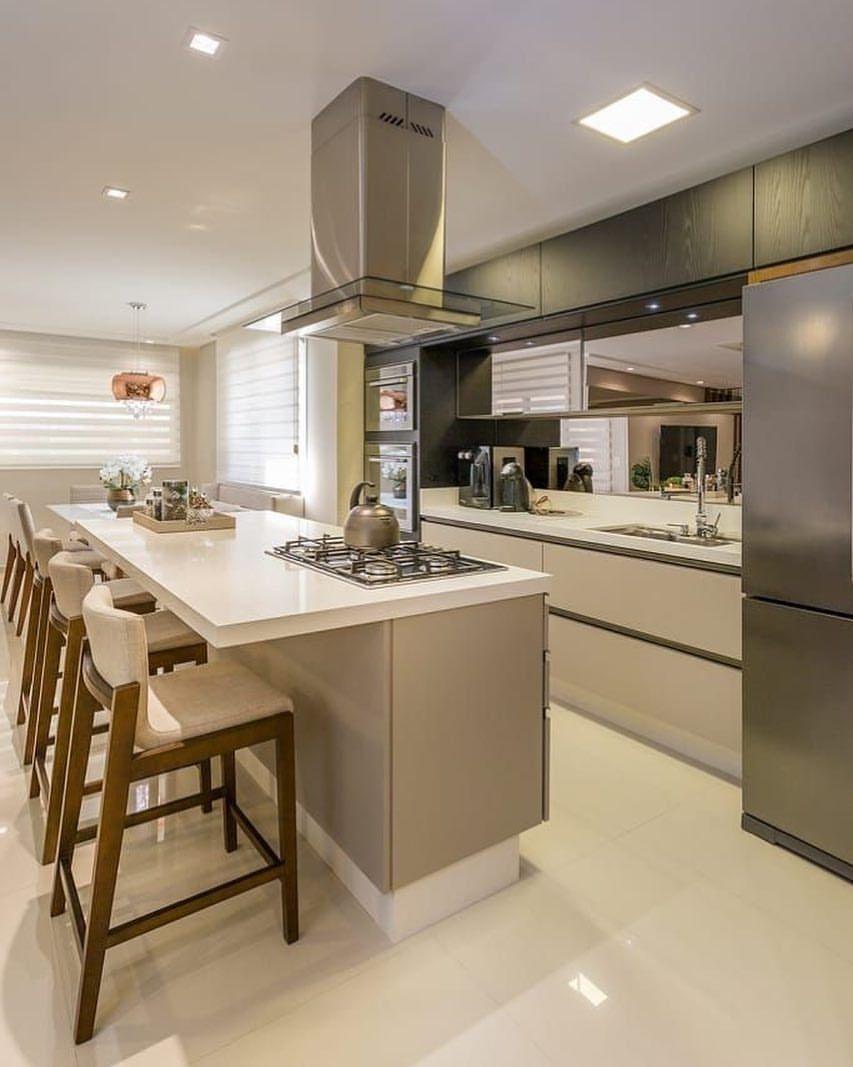 Mostrando mais uma vez essa cozinha divina ♥️✨ Via: @pinterest ...