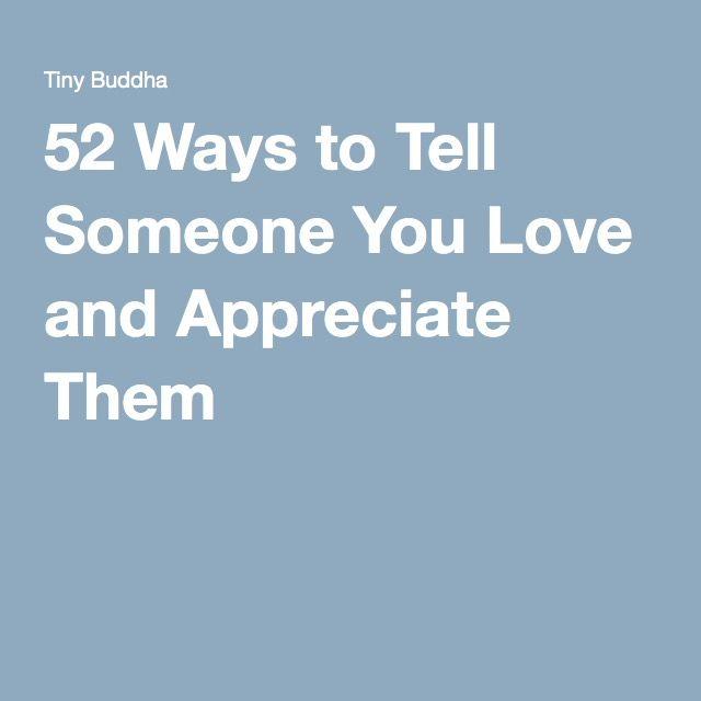 52 ways to tell