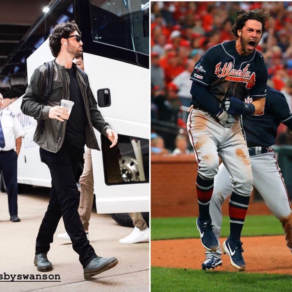 Game 3 Nlds From Atlanta Braves Fan Group Facebook Atlanta Braves Braves Dansby Swanson