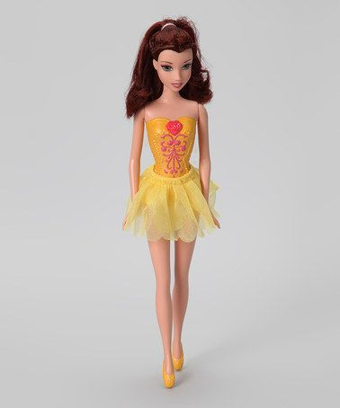Take a look at this Belle Disney Princess Ballerina Doll by Disney Princesses Collection on #zulily today!