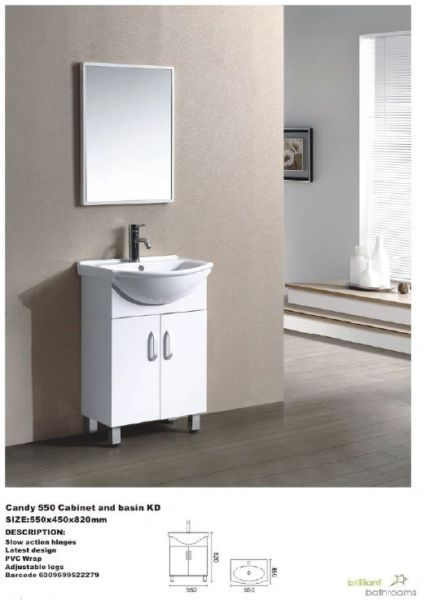Candy Cabinet 550 Vanity Cabinet Basin Bathroom Fixtures