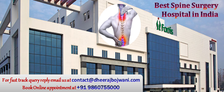 Spine surgery in India is very affordable and can be easily