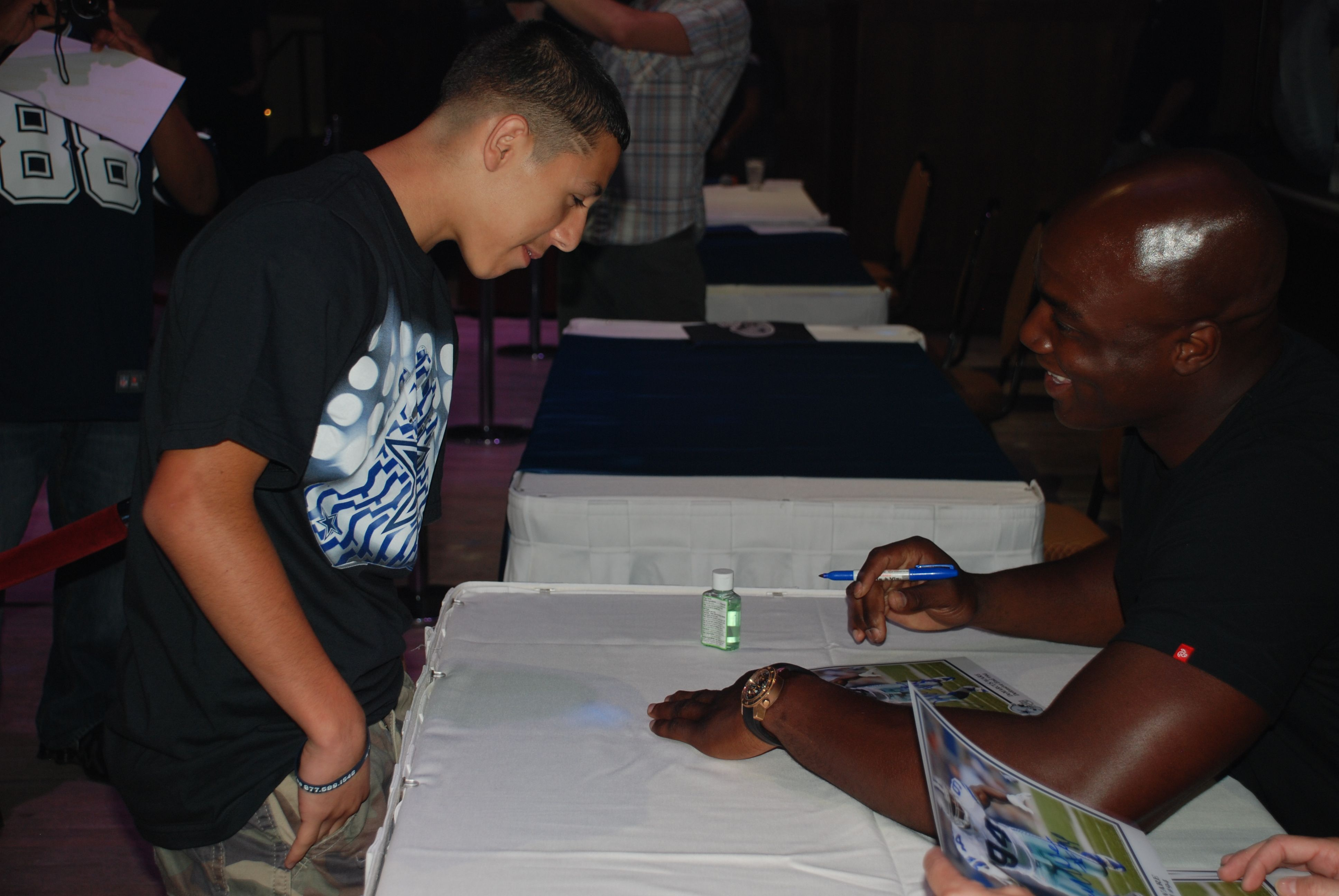Meet stars like demarcus ware dallas cowboys player meet greet the star sports tours player meet greet is your chance to meet current players of the dallas cowboys m4hsunfo Image collections