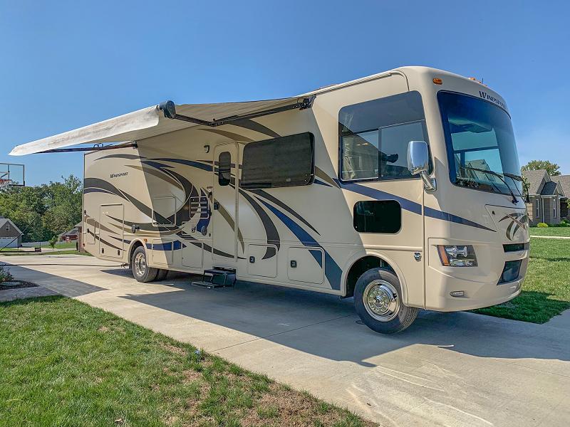 2015 Thor Windsport 34j Bunkhouse Class A Gas Motorhome Sold 9 13 2019 Louisville Kentucky Motorhome Louisville Ky