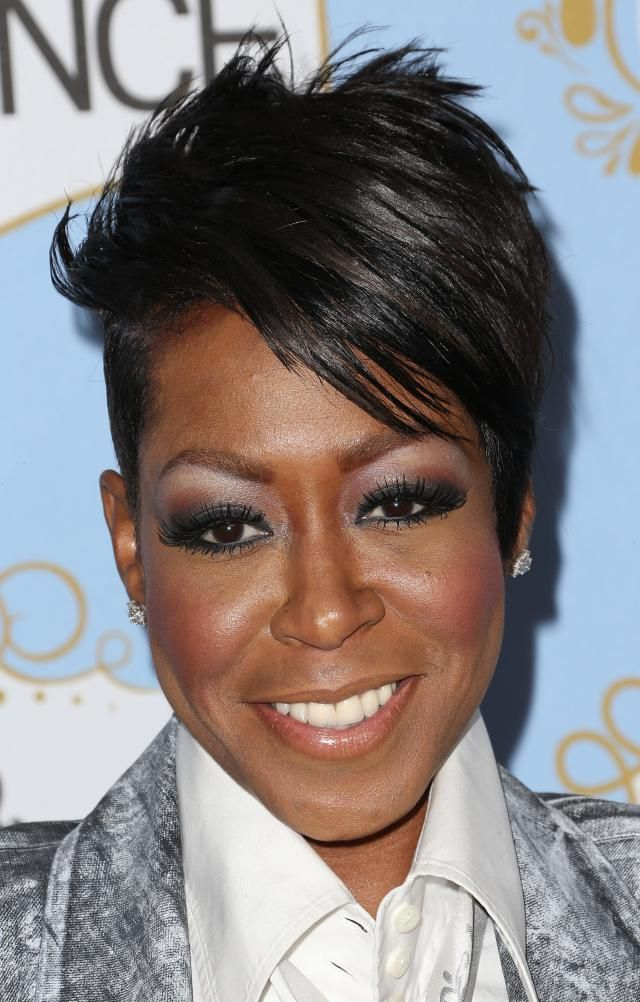 Black Female Celebs With Short, Edgy Haircuts in 2020 | Short black hairstyles, Short black ...