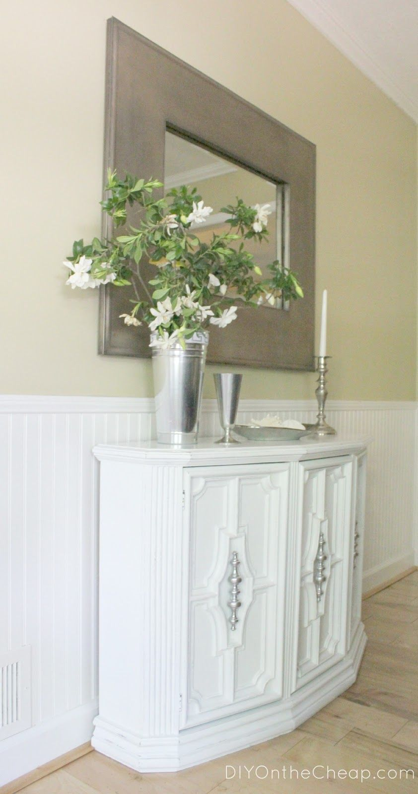 DIY On The Cheap: Dining Room Buffet Table. Maybe One Place Iu0027d
