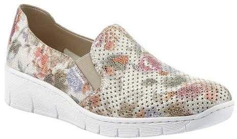 762e10d92e Rieker Antistress Women s Rieker-Antistress Doris A5 Slip-On Sneaker -  White Multi Synthetic Sneakers