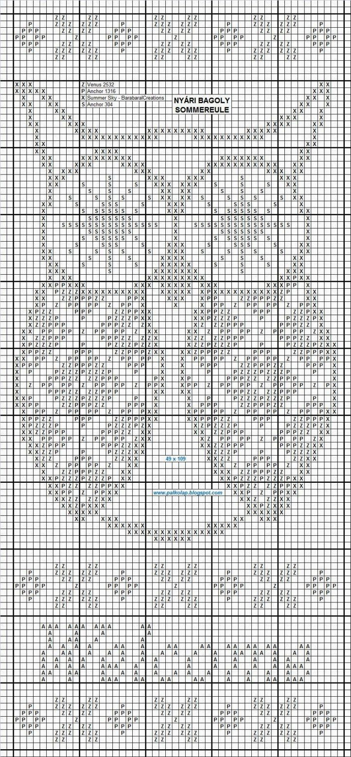 nyari_bagoly.jpg (722×1557) | вязание | Pinterest | Gardinen, Häkeln ...