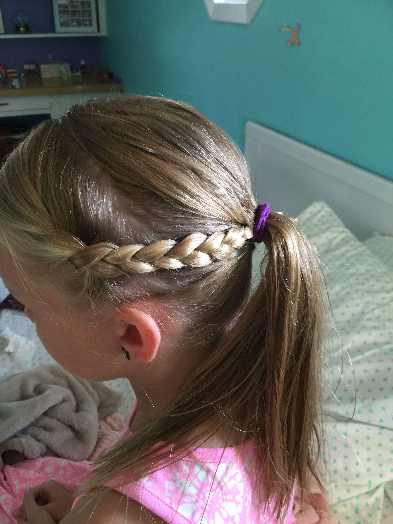 Lauryn's own creation braid