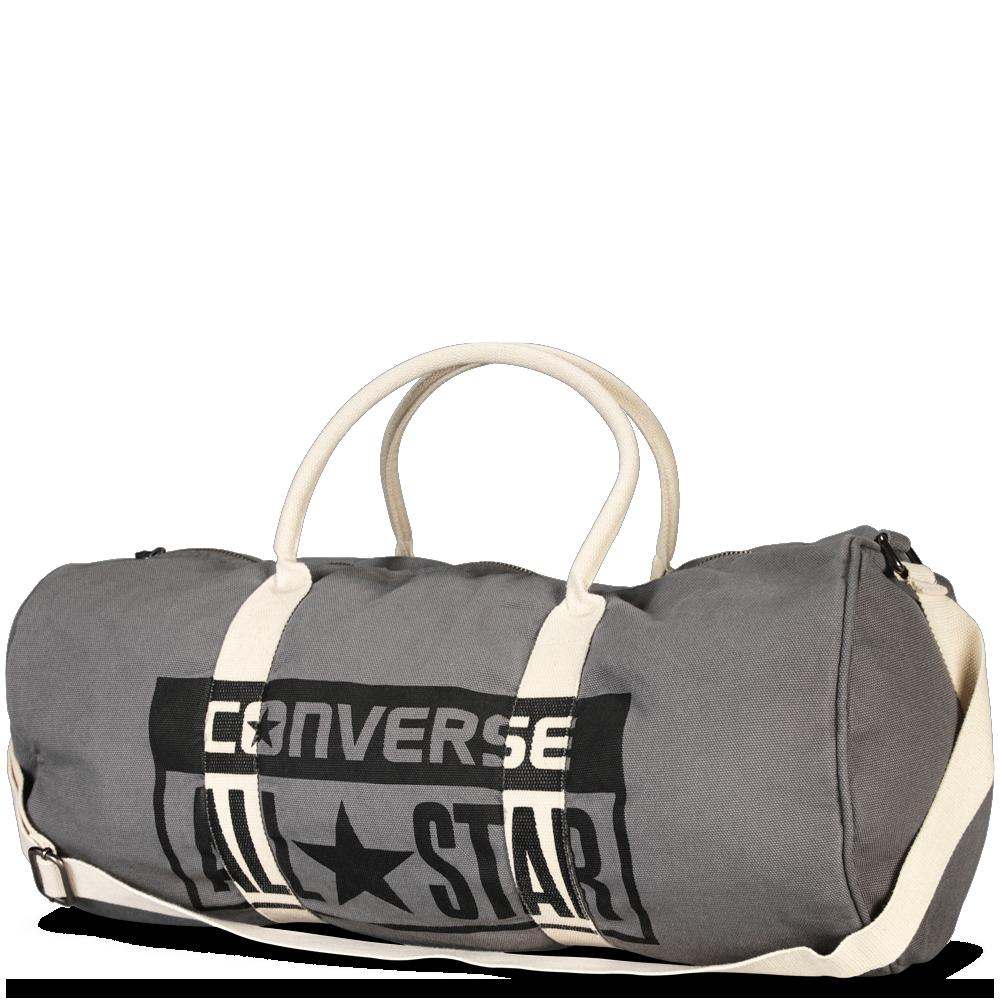 Graphic Barrel Bag Converse Charcoal converse charcoal