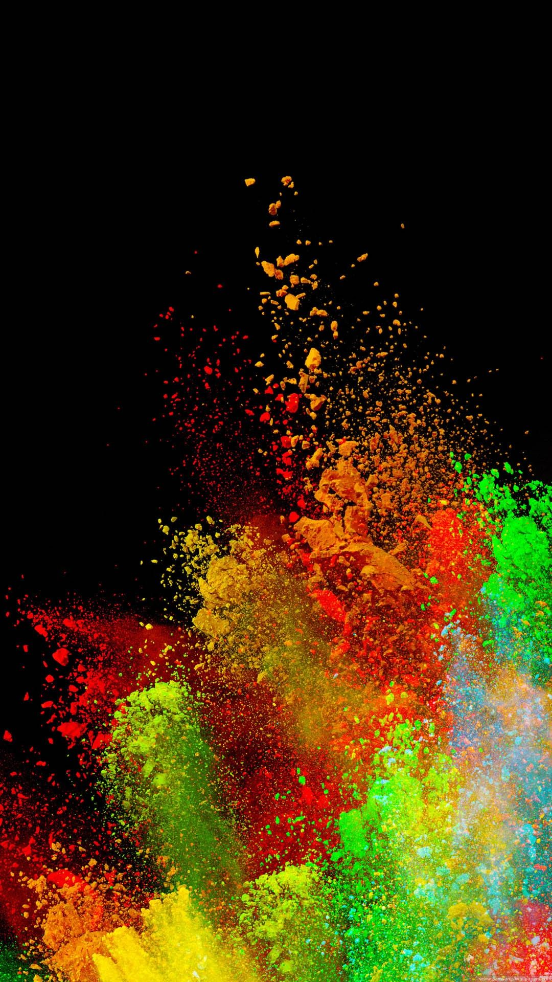 Color Splash Wallpaper Abstract iphone wallpaper