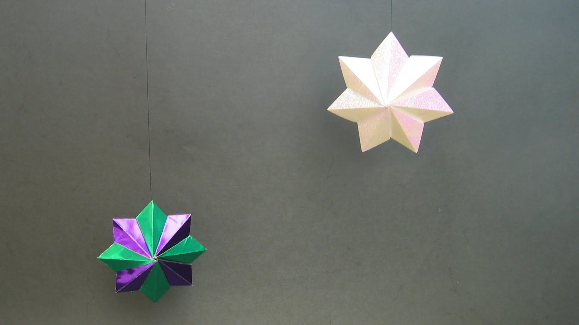 Christmas Origami Instructions Star Stella Pitti Francesco