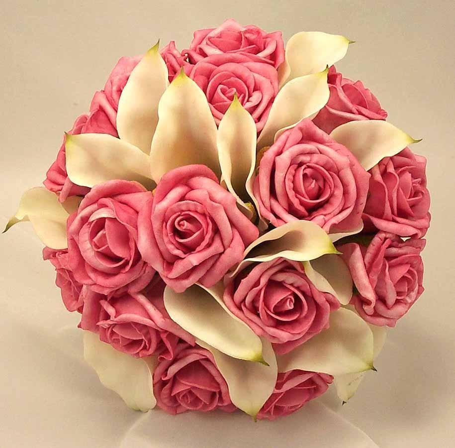 صور بوكيه ورد صور بوكيهات ورد اجمل صور بوكية ورود رومانسية Flower Bouquet Wedding Pink Wedding Flower Bouquets Artificial Flower Wedding Bouquets