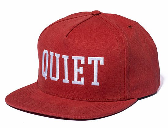 0e87fb9f618 Big Text Snapback Cap by THE QUIET LIFE Best Caps