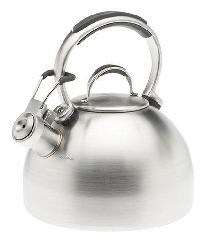 Kitchenaid Teakettle 2 Quart Gourmet Essentials Stainless Steel Kettle Brushed