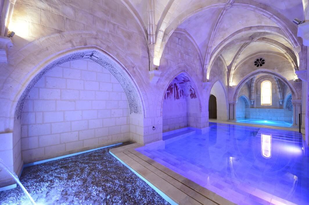 Hoteles Con Spa Castillo De Valbuena Spa Jacuzzi Outdoor Hotel Project Hotel Spa
