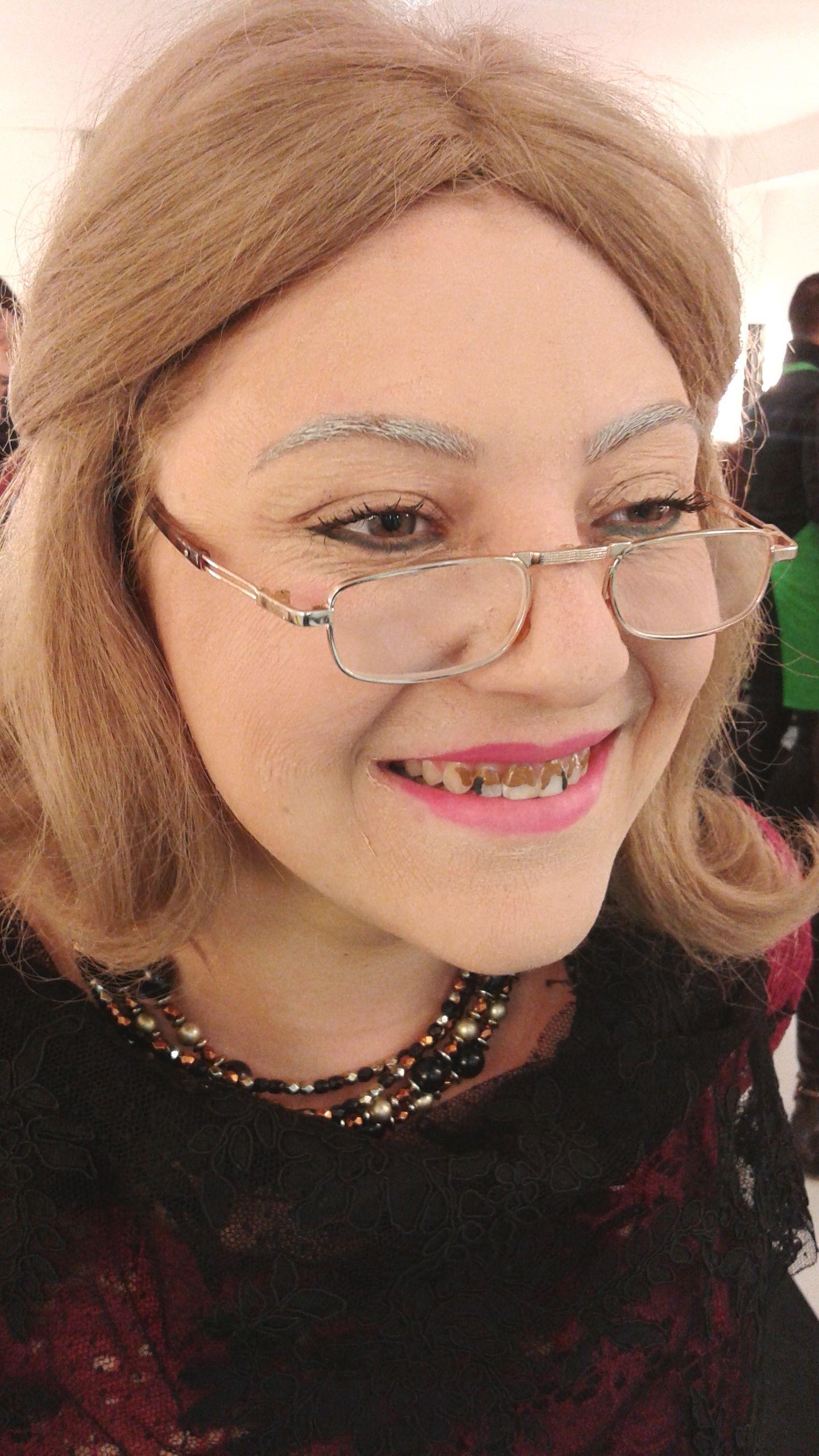 Envejecimiento de cine en el curso intensivo de #maquillaje profesional