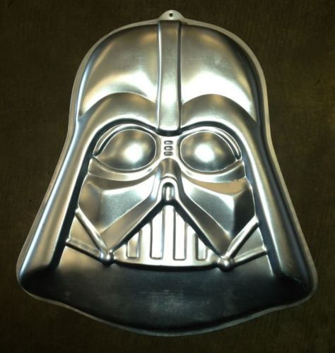 Darth Vader Wilton Cake Pan 1980 Star Wars Birthday 502