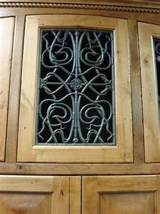 Cabinet Inserts Faux Iron Glass Kitchen Cabinets Glass Kitchen Cabinet Doors