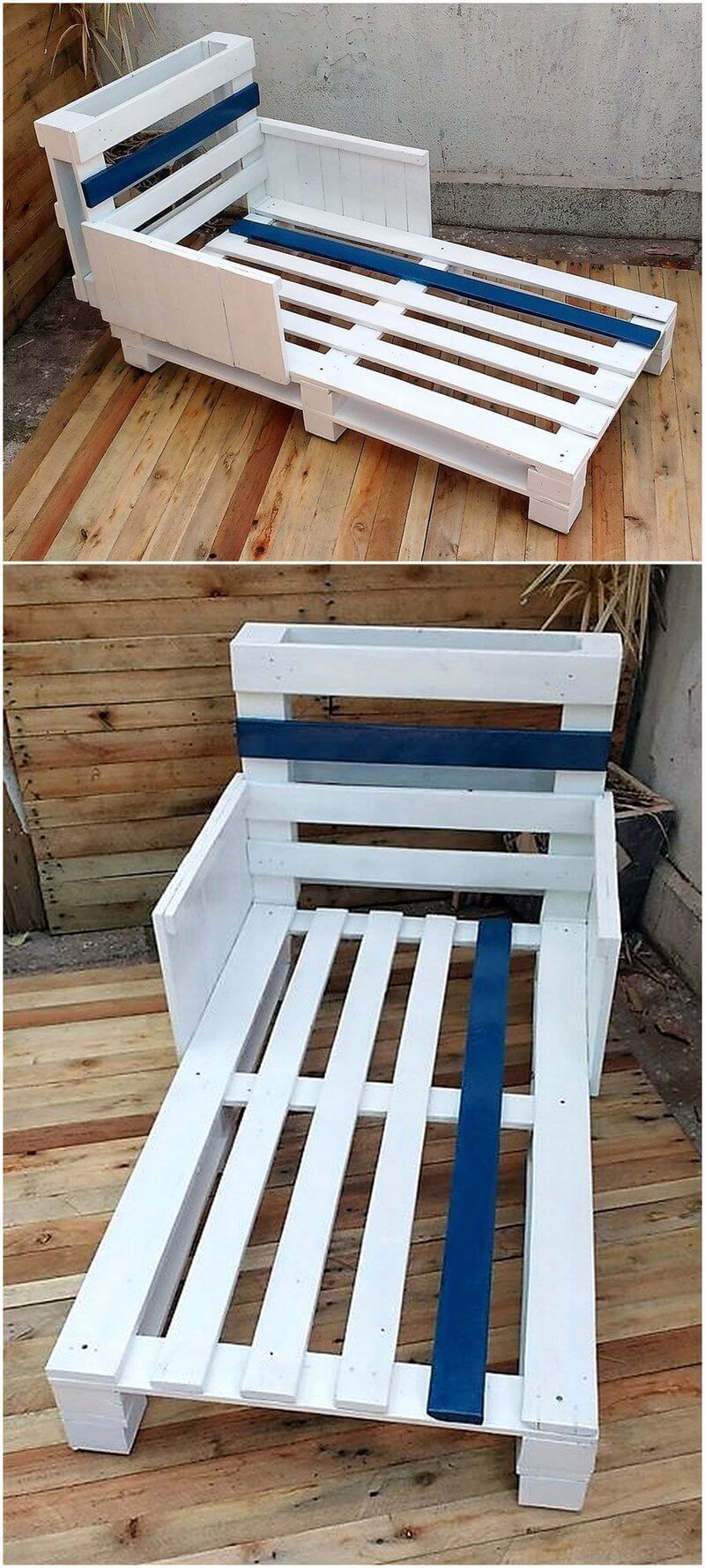 Pallet Toddler Bed Plan Pallet Toddler Bed Diy Toddler Bed